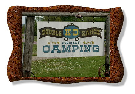 Double K-D Ranch Campground, Baraboo, Wisconsin Dells, Devils Lake